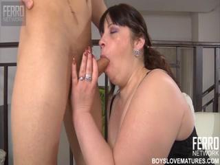 Русское порно видео с толстой женщиной в чул